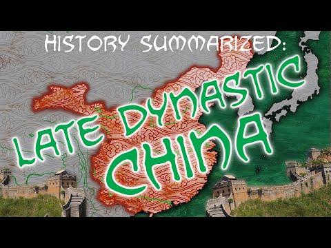 History Summarized: Imperial China