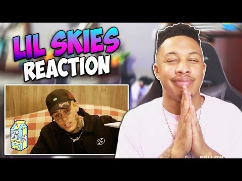Lil Skies - i (Dir. by @ ColeBennett ) Reaction Video   FIRST REACTION