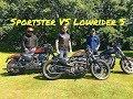 Sportster VS Dyna Lowrider S
