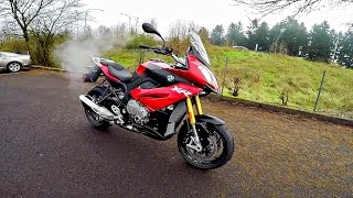 Insanely Cool BMW S1000XR!! - 1st Ride & Impression! | BikeReviews
