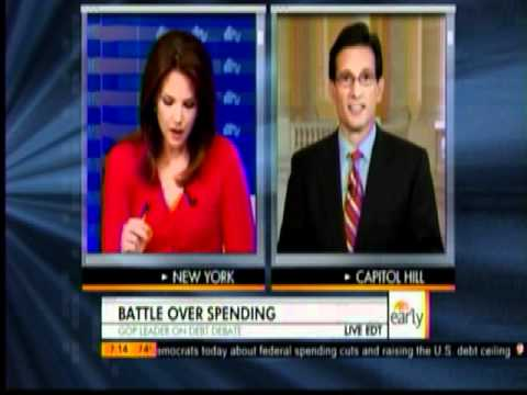 Majority Leader Eric Cantor Discusses Meeting w/ President Obama & GOP's Jobs Plan