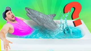 Whats in the Bath Challenge!  (ANIMALS)