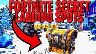 Top 6 Best Secret Landing Spots Season 7 Fortnite