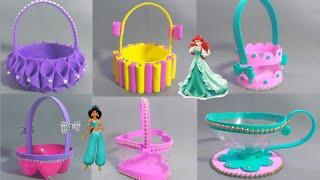 6 DULCEROS CON RECICLAJE super fáciles de hacer - manualidades para niños #artesanato
