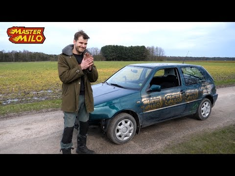 VW Golf mk3 topspeed in reverse