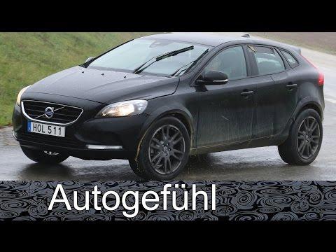 Volvo XC40 Mule 2018 compact SUV spy shots camo car Erlkönig all-new neu