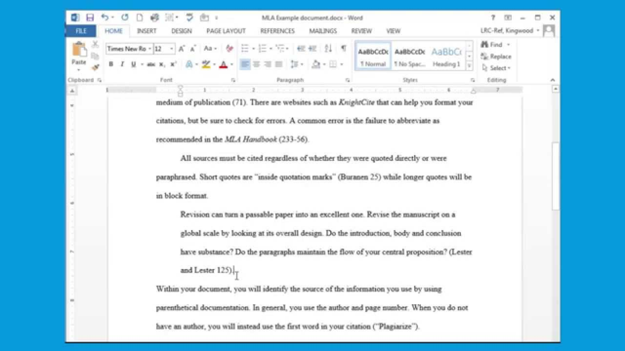 how to insert a block quote in essay