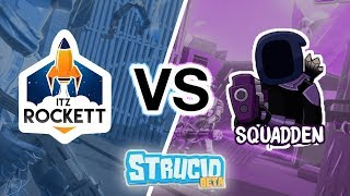 I challenged Squadden To A 1v1 In Strucid And This Happened... (ROBLOX Fortnite)