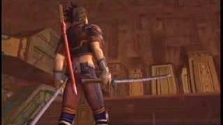 Seven Samurai 20XX - game trailer - music by Ryuichi Sakamoto