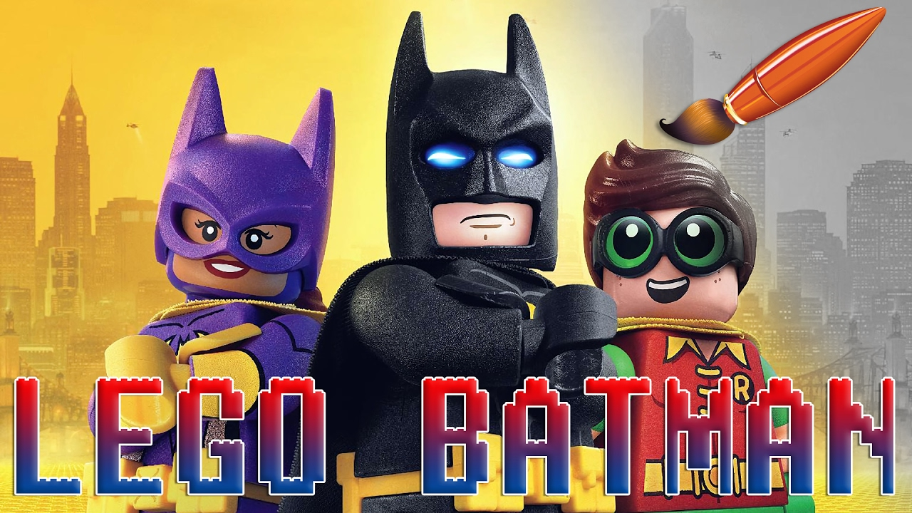Lego Batman Movie With Batgirl And Robin Kids Coloring