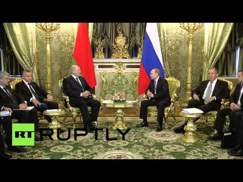 Russia: Putin welcomes Lukashenko for 'essential' bilateral talks