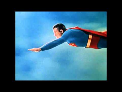 Adventures Of Superman - Color Flying With Superman