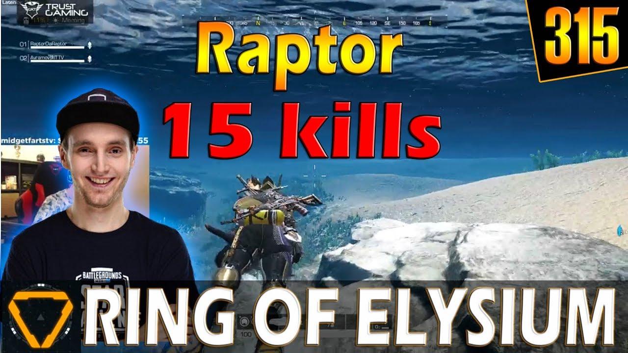 RaptorDaRaptor | 15 kills | ROE (Ring of Elysium) | G315
