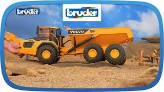 VOLVO A60H Dumper -- 02455 -- BRUDER Spielwaren