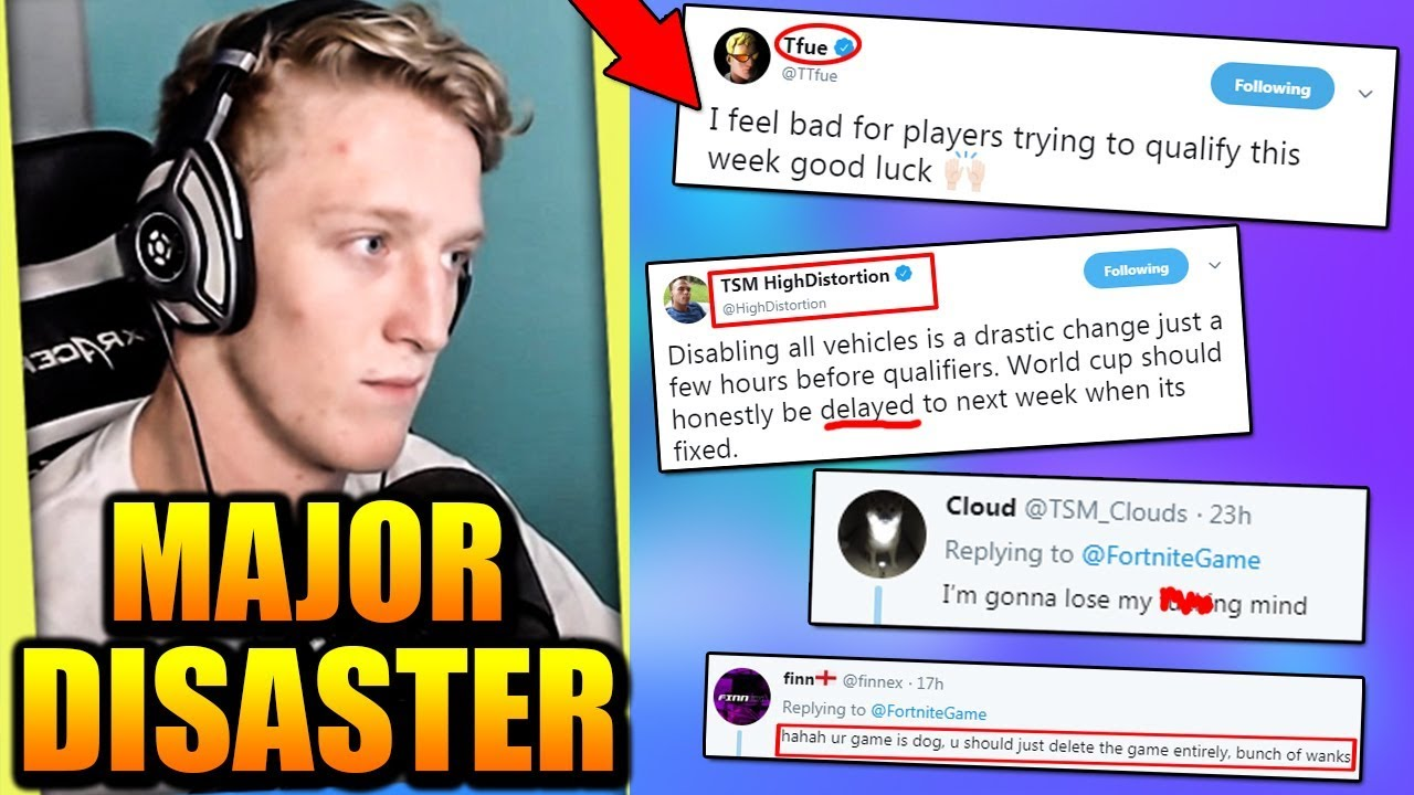 Fortnite RUINED The World Cup... PRO Players SICK of Epic ...