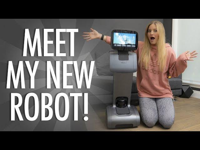 Meet my new Robot TEMI!