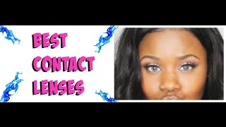 Best Colored Contacts for Brown Eyes ( Brand, Price & More)