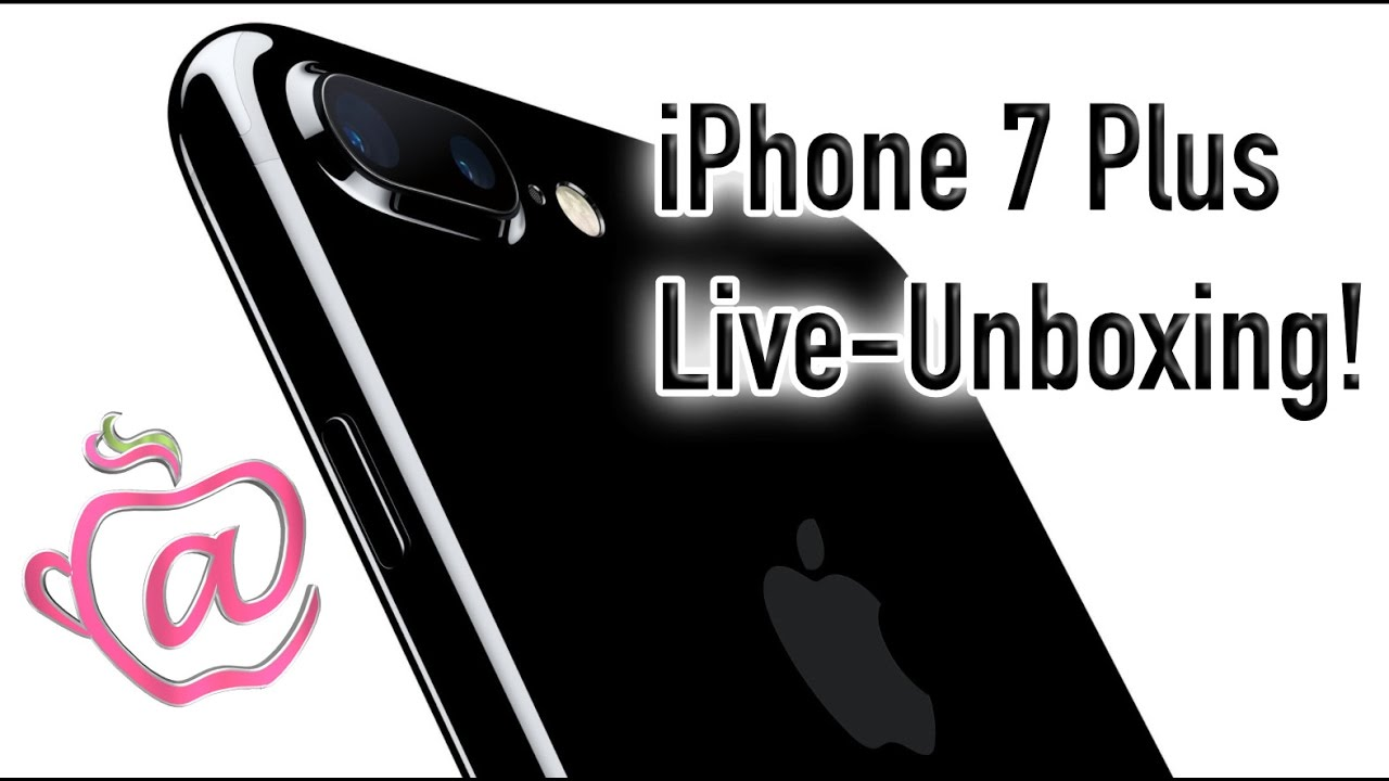 iphone 7 unboxing iphone 7 plus live unboxing 11566