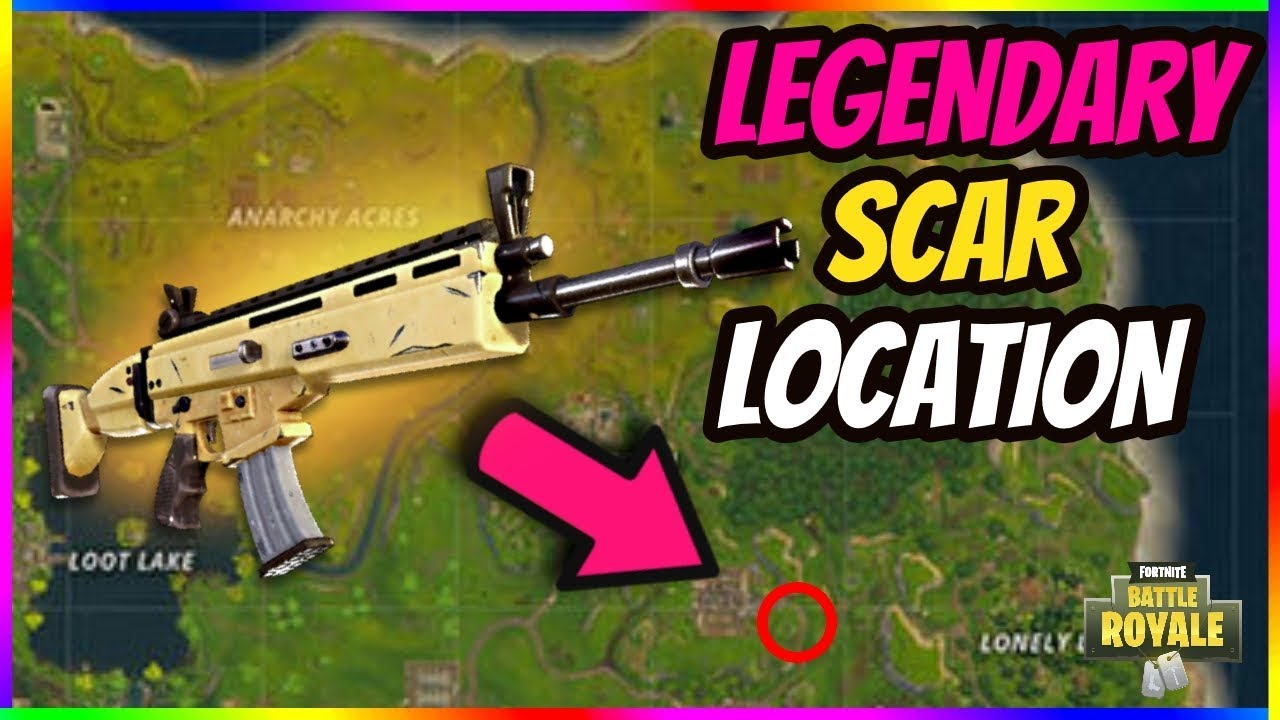 Legendary Scar Location In Fortnite How To Get The Best Loot Every Time In Fortnite Battle Royale