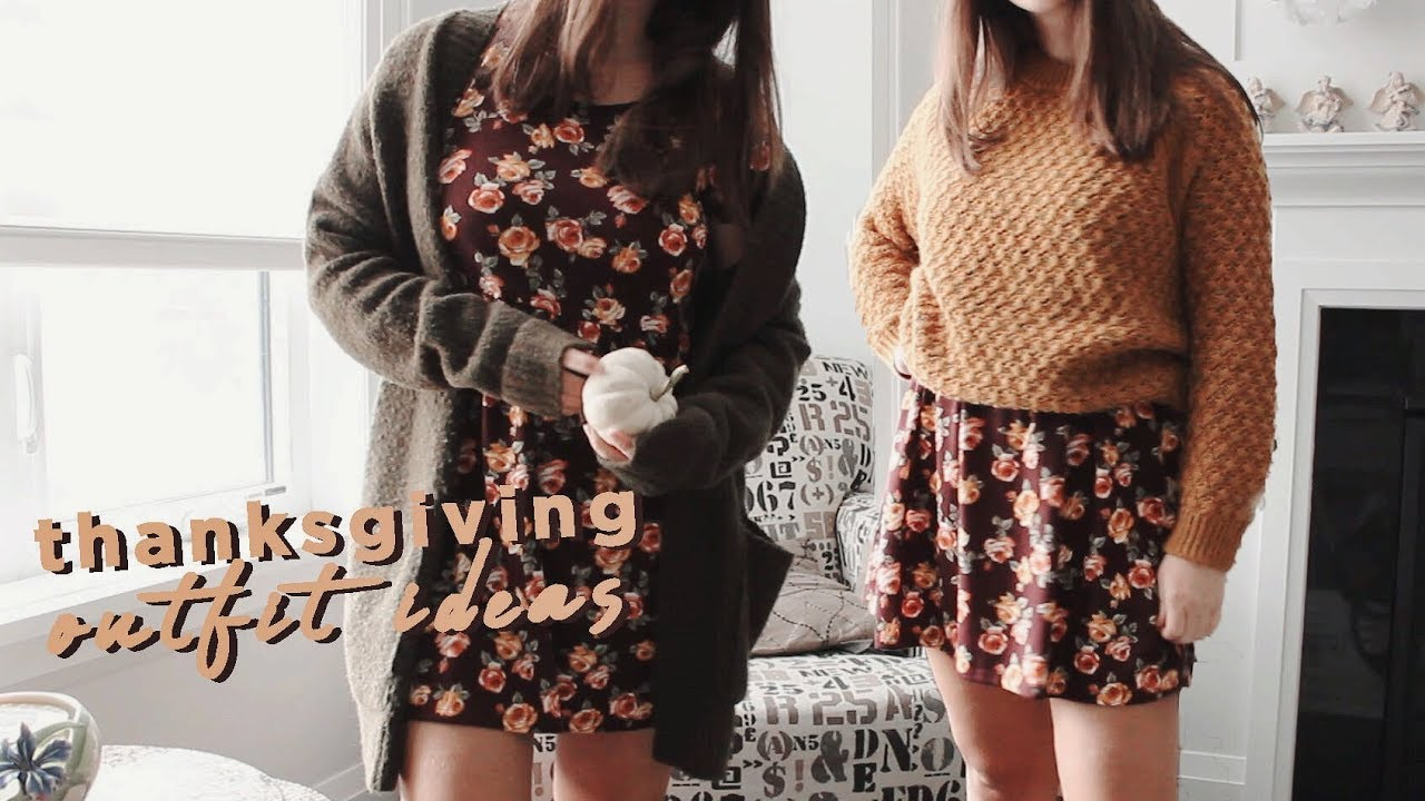 THANKSGIVING LOOKBOOK | Fall Outfit Ideas 7