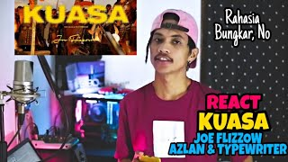 Joe Flizzow - KUASA (Official Music Video) ft. Azlan & Typewriter | REACT INDO | DISS PEMERINTAH🔥❗