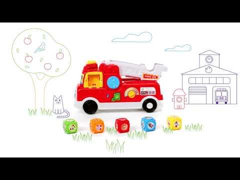 Tumbling Blocks Fire Truck | Demo Video | LeapFrog