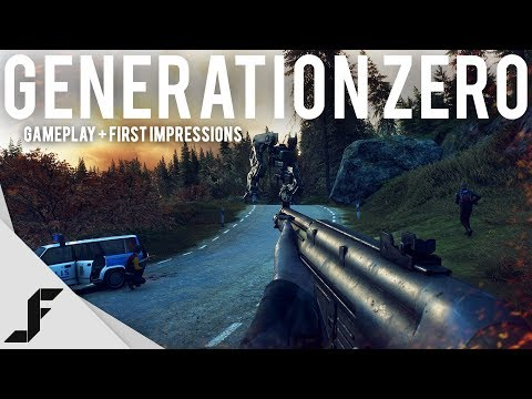 Generation Zero Gameplay and First Impressions
