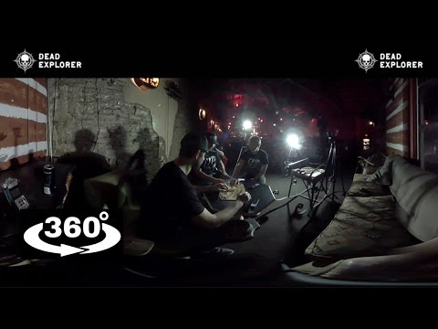 SCARY 360 Video: HAUNTING Ouija Board Session! VR 4K 360°