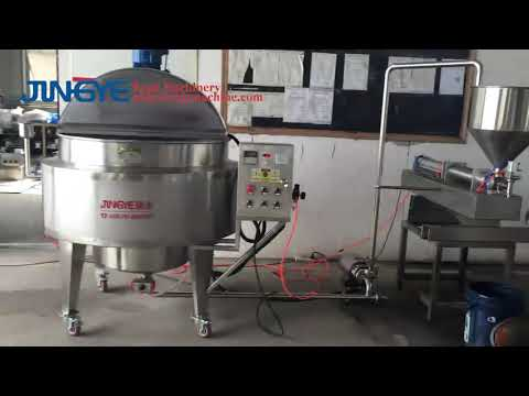 Small Tomato Sauce Production Line (cooking Kettle+filling Machine)/ Sauce Making Machine