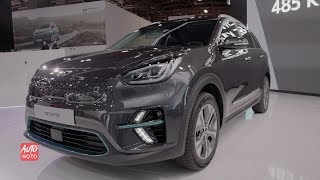 2019 KIA e-Niro - Exterior And Interior Walkaround - 2018 Paris Motor Show