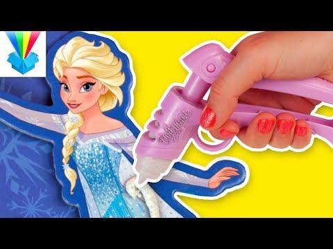 Kicsomi - 🦄Kiki 🦄: 🎁 Play-Doh DohVinci Jégvarázs emlékeztető tábla ❄❄❄ videó letöltés