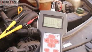 Pomiar sygnału czujnika wałka rozrządu - diagnoskop DM-1