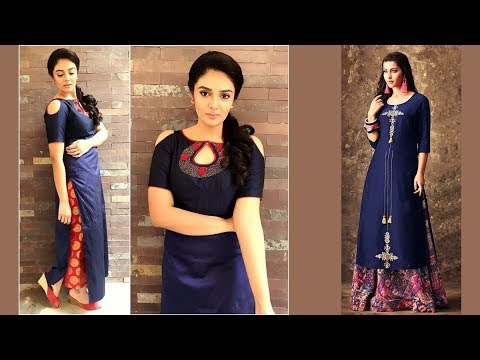Daily Usable Fashionable Kurti Designs Part 04