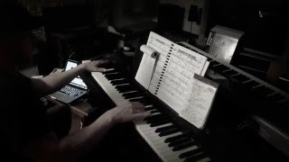 Repeat youtube video Kanye West Wolves Piano Cover