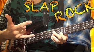 FAST SLAP Bass Rock Solo