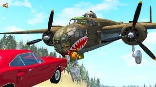 Beamng Drive - Aircraft Crashes #6 (plane crashes)