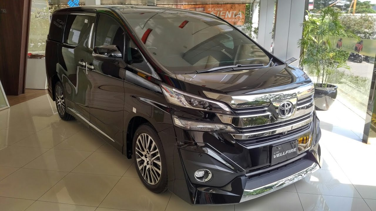 All New Alphard 2018 Indonesia Camry Review In Depth Tour Toyota Vellfire Limited Youtube