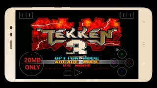How to download Tekken 3 game in Android only 20MB With Cheat Codes(HINDI/Urdu)
