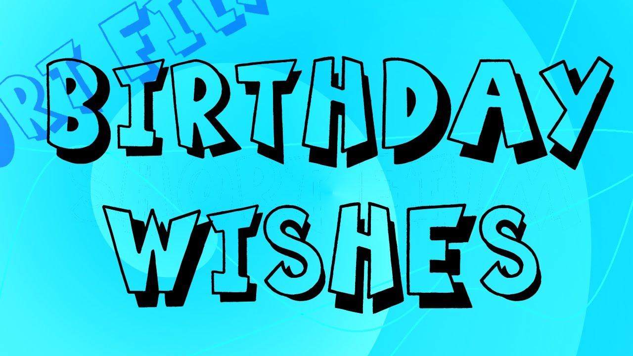 My Random Thought On Birthday Wishes Short Minecraft Film