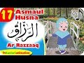 Asmaul Husna 17 Arti Ar Razzaaq bersama Diva | Kastari Animation Official