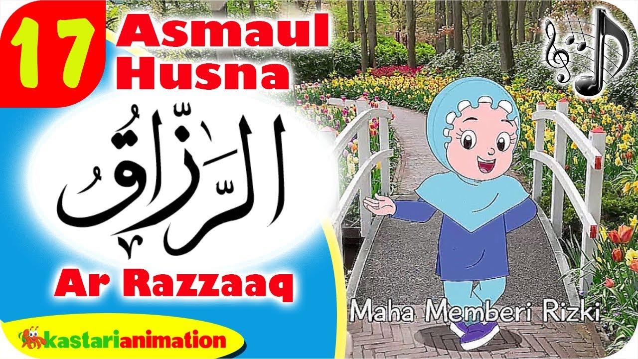 Asmaul Husna 17 - Ar Razzaaq bersama Diva | Kastari Animation Official