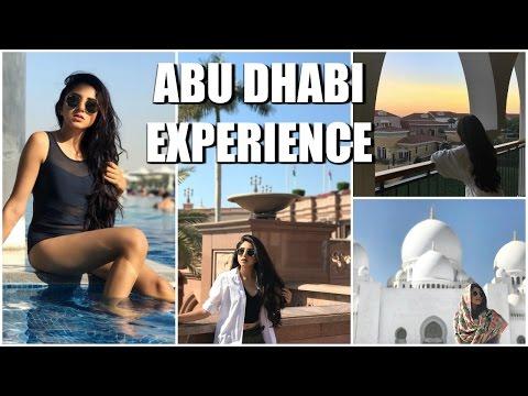 Abu Dhabi Travel Experience | Aashna Shroff Vlog