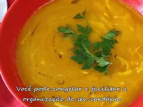 sopa de abobora com frango dieta
