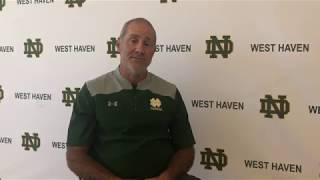 Coach Andreozzi Previews 2018 ND Cross Country Season