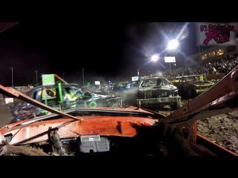 2017 CDDA Crashtoberfest @ Salina Speedway Oct 14th 2017 Justin Berry Go Pro Onboard Video