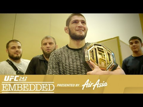 UFC 242 Embedded: Vlog Series - Episode 3