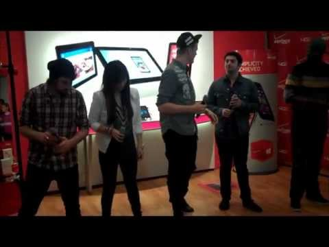 Pentatonix NYC Verizon Performance (Part 6) - Angels We Have Heard on High