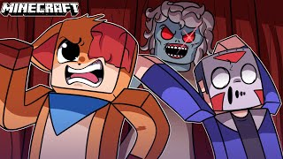 GRANNY IS AFTER US!!! [MINECRAFT SCARY MAP] w/ Delirious