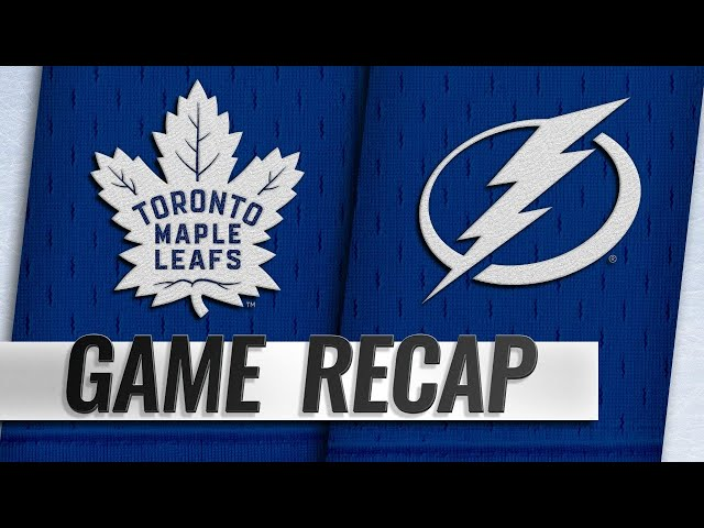 Marner, Andersen help Maple Leafs hold off Lightning