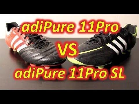 Adidas Adipure 11Pro Vs Adidas Adipure 11Pro Sl Confronto Su Youtube